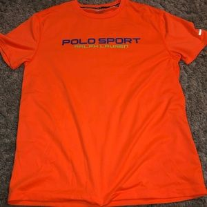Men's dry fit Polo workout shirt